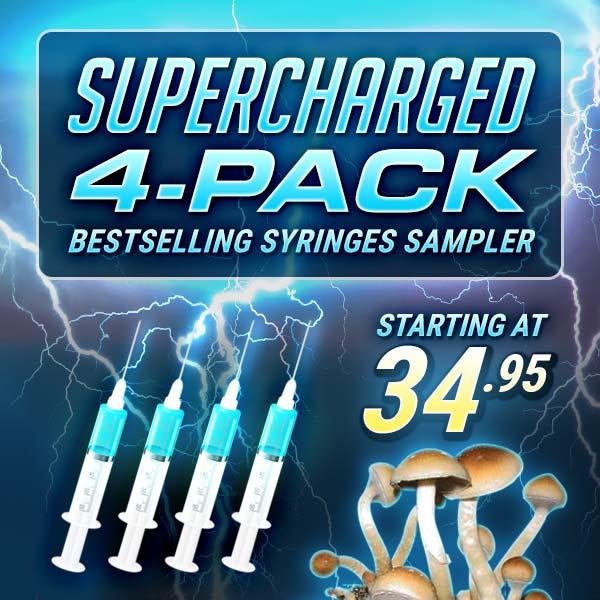 Spore Syringe 4-Pack Sampler